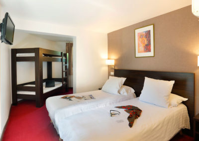 Grand Hôtel Sénia | Chambre quadruple