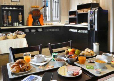 Grand Hôtel Sénia | Salle des petits déjeuner
